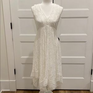 Just...Taylor white lace dress